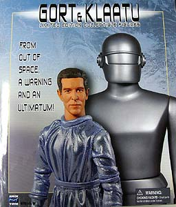 AMOKTIME GORT & KLAATU COLLECTORS FIGURE SET
