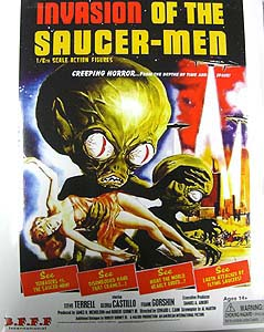 AMOKTIME INVASION OF THE SAUCER-MEN COLLECTORS FIGURE SET