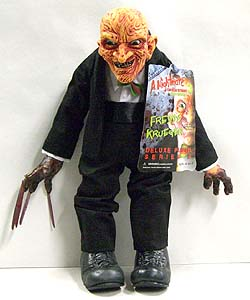 MEZCO CINEMA OF FEAR 14インチ PLUSH DOLL A NIGHTMARE ON ELM STREET PART 3 DREAM WARRIORS FREDDY KRUEGER