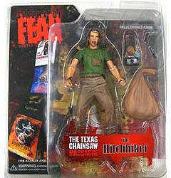 MEZCO CINEMA OF FEAR SERIES 3 THE TEXAS CHAINSAW MASSACRE THE HITCHHIKER