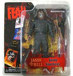 MEZCO CINEMA OF FEAR SERIES 3 FRIDAY THE 13TH JASON GOES TO HELL JASON VOORHEES