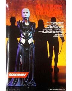 SCREAMIN' ヘルレイザー FEMALE CENOBITE 1/4スケール ソフビキット (キットは未塗装です。ベースなし)
