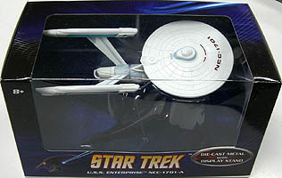 MATTEL HOT WHEELS STAR TREK 1/50スケール U.S.S. ENTERPRISE NCC-1701-A