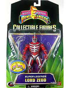 USA BANDAI POWER RANGERS SUPER LEGENDS LORD ZEDD