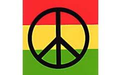 PEACE #3 10.2X10