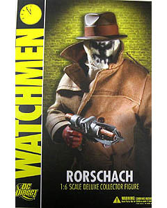 DC DIRECT WATCHMEN 1/6 DX COLLECTOR FIGURE RORSCHACH 開封済み中古美品