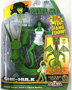 HASBRO MARVEL LEGENDS FIN FANG FOOM SERIES SHE-HULK
