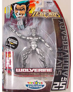 HASBRO MARVEL LEGENDS 1 ANNIHILUS SERIES USA トイザラス限定 25TH SILVER ANNIVERSARY WOLVERINE
