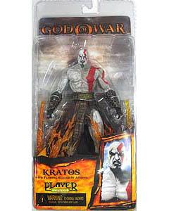 NECA PLAYER SELECT GOD OF WAR II KRATOS WITH FLAMING BLADES OF ATHENA