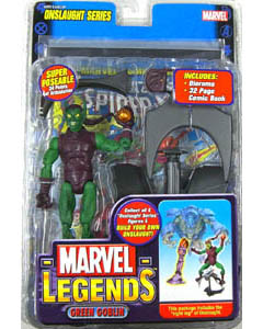 TOYBIZ MARVEL LEGENDS 13 ONSLAUGHT SERIES GREEN GOBLIN ブリスターワレ特価