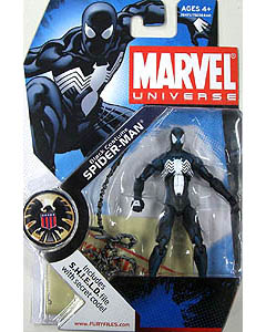HASBRO MARVEL UNIVERSE SERIES 1 #018 BLACK COSTUME SPIDER-MAN