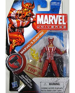 HASBRO MARVEL UNIVERSE SERIES 2 #005 MARVEL'S SUNFIRE