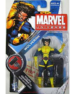 HASBRO MARVEL UNIVERSE SERIES 2 #002 WOLVERINE [BLUE & YELLOW X-MEN COSTUME]