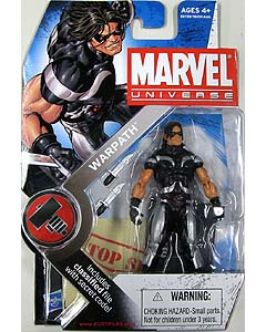 HASBRO MARVEL UNIVERSE SERIES 2 #003 WARPATH