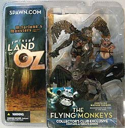 McFARLANE TWISTED LAND OF OZ コレクターズクラブ限定 THE FLYING MONKEYS