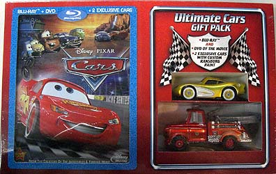 ULTIMATE CARS GIFT PACK [BLUE-RAY + DVD + EXCLUSIVE CAR x2]