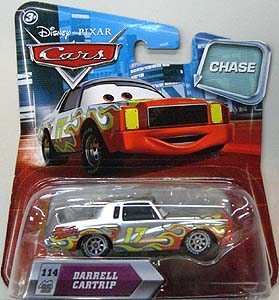 MATTEL CARS 2010 MY EYES CHANGE CHASE DARRELL CARTRIP 台紙傷み特価