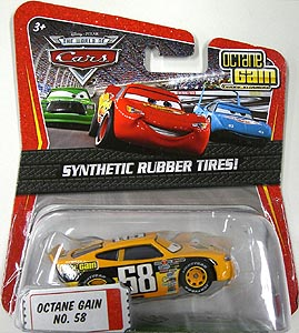 MATTEL CARS THE WORLD OF CARS K-MART限定 SYNTHETIC RUBBER TIRES! OCTANE GAIN NO.58