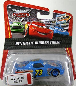 MATTEL CARS THE WORLD OF CARS K-MART限定 SYNTHETIC RUBBER TIRES! REV 'N' GO NO.73