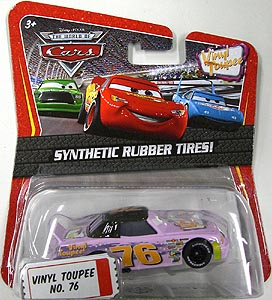 MATTEL CARS THE WORLD OF CARS K-MART限定 SYNTHETIC RUBBER TIRES! VINYL TOUPEE NO.76