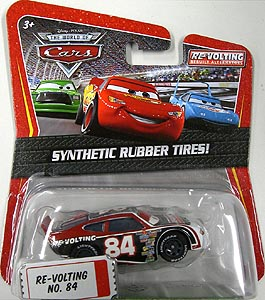 MATTEL CARS THE WORLD OF CARS K-MART限定 SYNTHETIC RUBBER TIRES! RE-VOLTING NO.84
