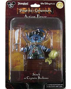 PIRATES OF THE CARIBBEAN USAディズニーテーマパーク限定 フィギュア STITCH AS CAPTAIN BARBOSSA