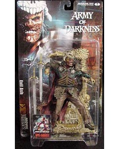 McFARLANE MOVIE MANIACS 4 ARMY OF DARKNESS EVIL ASH ブリスターヤケ&台紙傷み特価
