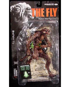 McFARLANE MOVIE MANIACS 3 THE FLY BRUNDLE FLY ブリスターヤケ特価