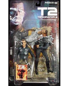 McFARLANE MOVIE MANIACS 4 TERMINATOR 2 T-1000 台紙傷み特価