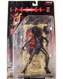 McFARLANE MOVIE MANIACS 1 SPECIES 2 EVE