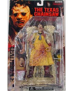 McFARLANE MOVIE MANIACS 1 LEATHERFACE [本体血糊あり]