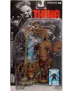 McFARLANE MOVIE MANIACS 3 THING NORRIS CREATURE WITH SPIDER ブリスターヤケ特価