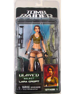NECA PLAYER SELECT TOMB RAIDER LARA CROFT ノーマルコスチューム