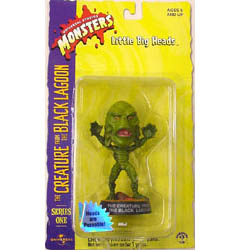 SIDESHOW LITTLE BIG HEADS THE CREATURE FROM THE BLACK LAGOON CREATURE 台紙&ブリスター傷み特価