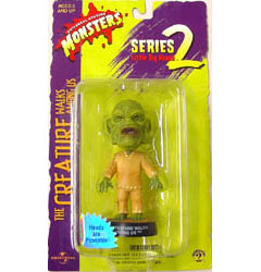 SIDESHOW LITTLE BIG HEADS THE CREATURE WALKS AMONG US CREATURE ブリスター傷み特価