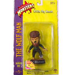 SIDESHOW LITTLE BIG HEADS THE WOLF MAN