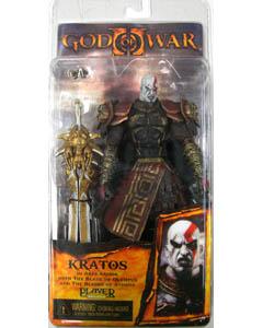 NECA PLAYER SELECT GOD OF WAR II ARES ARMOR KRATOS オープンマウス