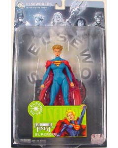 DC DIRECT ELSEWORLDS SERIES 3 ELSEWORLD'S FINEST SUPERGIRL 頭部外れ特価