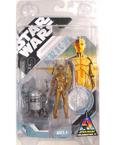 STAR WARS CELEBRARION IV限定 McQUARRIE CONSEPT R2-D2 & C-3PO