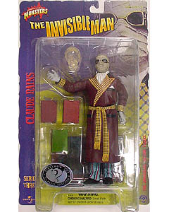SIDESHOW 8インチ アクションフィギュア SERIES 3 THE INVISIBLE MAN CLAUDE RAINS 台紙傷み特価