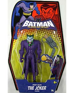 MATTEL BATMAN THE BRAVE AND THE BOLD POP GUN THE JOKER 台紙フック部分欠品特価