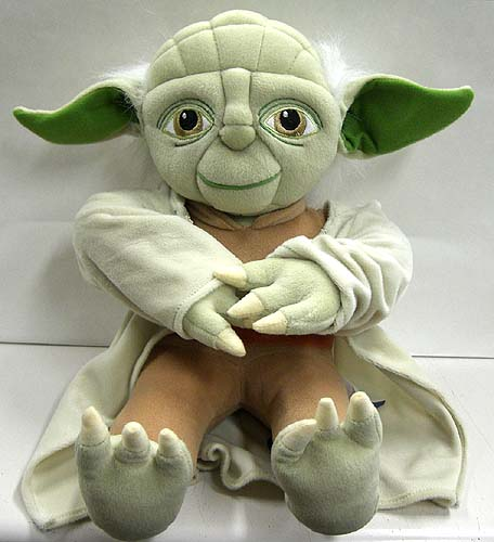 STAR WARS PILLOW BUDDY YODA