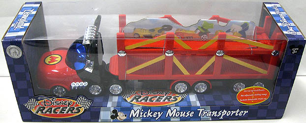 DISNEY USA ディズニーテーマパーク限定 DISNEY RACERS 1/64スケールミニカー MICKEY MOUSE TRANSPORTER