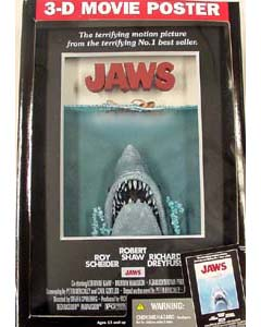 McFARLANE 3D-MOVIE POSTER JAWS