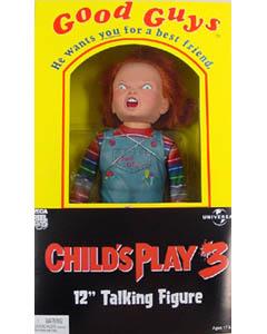 NECA CHILD'S PLAY 3 CHUCKY 12インチ トーキングフィギュア
