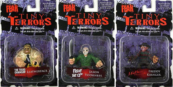 MEZCO CINEMA OF FEAR TINY TERRORS 3種セット