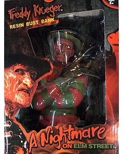 MONOGRAM A NIGHTMARE ON ELM STREET FREDDY KRUEGER RESIN BUST BANK