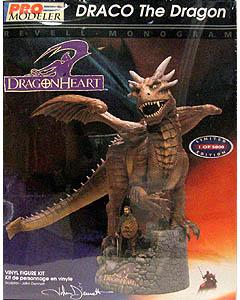 絶版商品 レベル & モノグラム ドラゴンハート ドラコ ソフビキット 開封、一部バリ切り取り済み特価