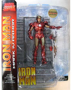 DIAMOND SELECT MARVEL SELECT BORDERS限定 映画版 IRON MAN 2 IRON MAN MARK IV ARMOR