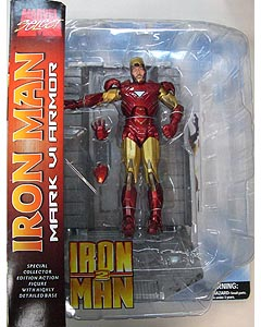 DIAMOND SELECT MARVEL SELECT 映画版 IRON MAN 2 IRON MAN MARK VI ARMOR パッケージ傷み特価